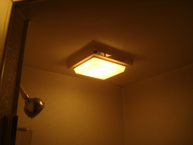 Improper Shower Light Fixture