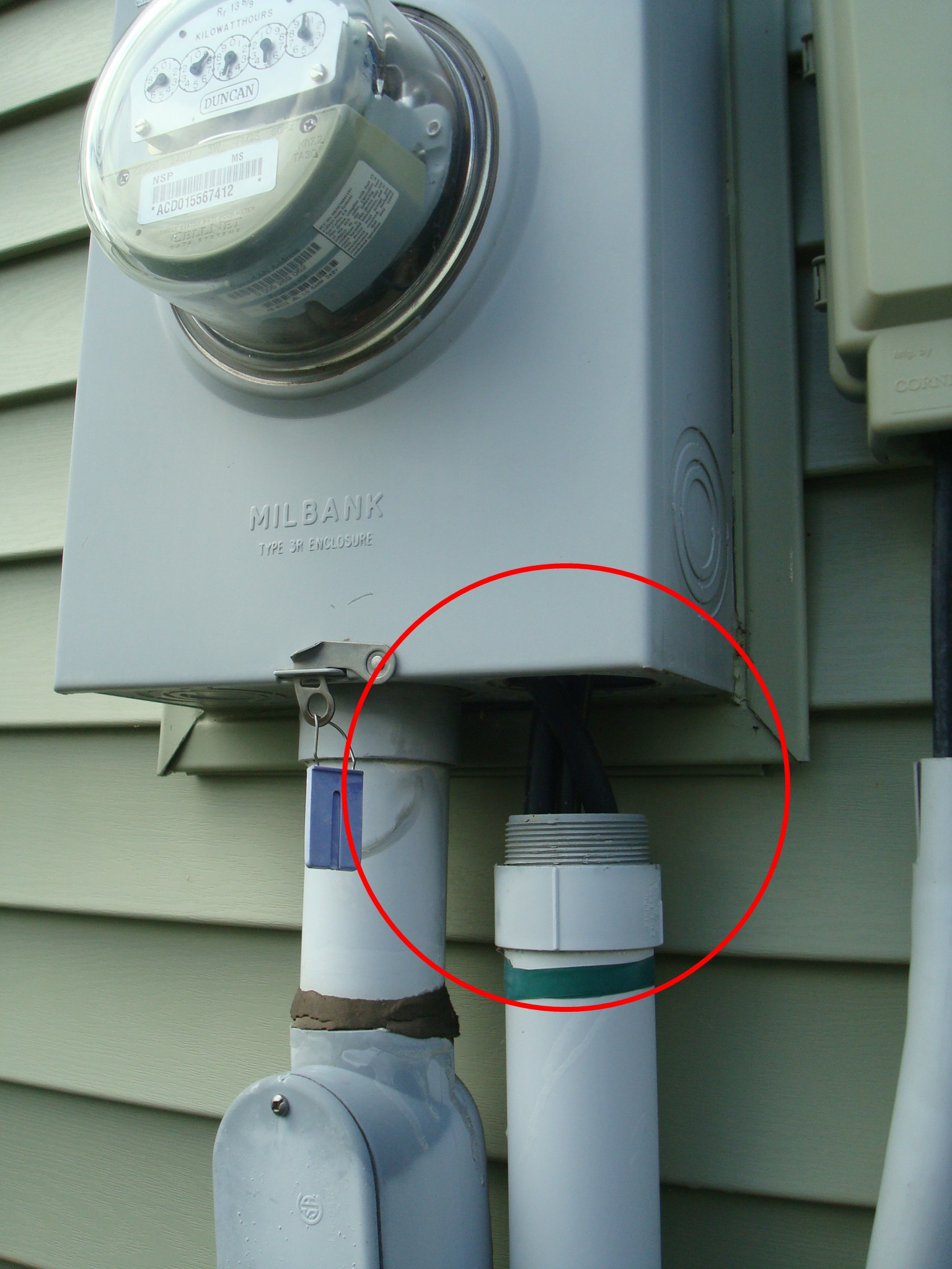 house meter box wiring is your electrical wiring safe in your new home