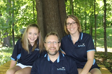 Home Inspector Pete Busch family picture - Eagle Home Inspections